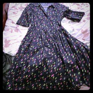 Trashy Diva Hourglass Shirtwaist Dress